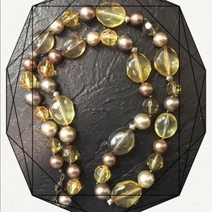 Chunky Statement Beaded Necklace